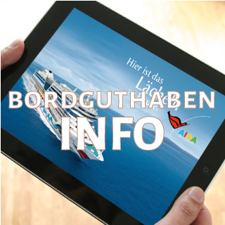 Informationen AIDA Bordguthaben